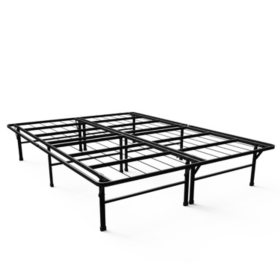 Night Therapy Reinforced SmartBase Platform Bed Mattress Foundation Various Sizes