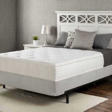 "Night Therapy Classic 10"" Spring Queen Mattress and Bifold Box Spring Set"