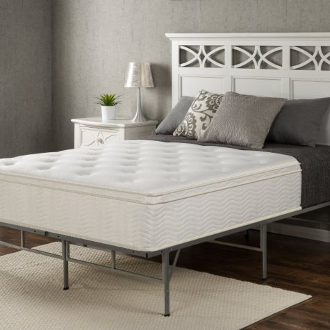 """Night Therapy Classic 12"""" Euro Box Top Spring Mattress (Various Sizes)"""