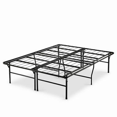 night therapy high profile smartbase platform bed frame various sizes - Black Platform Bed Frame