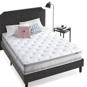 "Night Therapy Spring 10"" Fusion Gel Memory Foam Hybrid Queen Mattress"