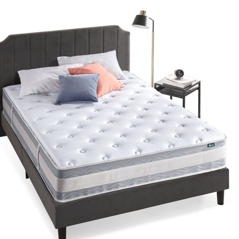 "Night Therapy Spring 12"" Fusion Gel Memory Foam Hybrid Full Mattress"