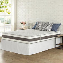 "Night Therapy 10"" Memory Foam Hybrid Mattress and SmartBase Foundation (Assorted Sizes)"