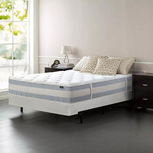 "Night Therapy Set Spring 12"" Fusion Gel Memory Foam Hybrid Queen Mattress and BiFold Box Spring"