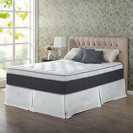 "Zinus Night Therapy 13.5"" ADAPTIVE Spring California King Mattress"