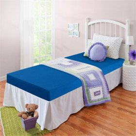"Night Therapy 5"" Memory Foam Youth Twin Mattress (Assorted Colors)"