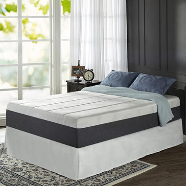 Night Therapy  Memory Foam Mattress And Bed Frame Set