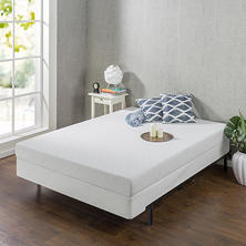 "Night Therapy 6""  Gel-infused Green Tea Memory Foam Twin Mattress and BiFold Box Spring Set"