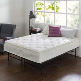 """Night Therapy 12"""" Comfort Coil Spring Full Mattress"""