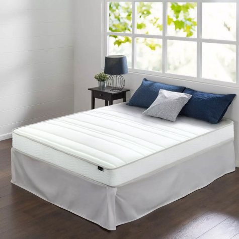 """Night Therapy 8"""" Comfort Coil Spring King Mattress and Smartbase Set"""