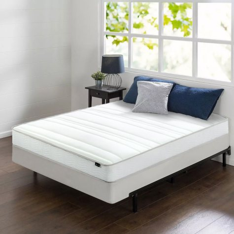 """Night Therapy 8"""" Comfort Coil Spring Queen Mattress and BiFold Set"""
