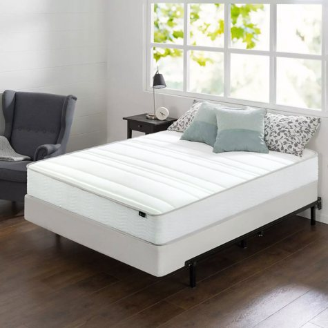 """Night Therapy 10"""" Comfort Coil Spring Twin Mattress and BiFold Box Spring Set"""