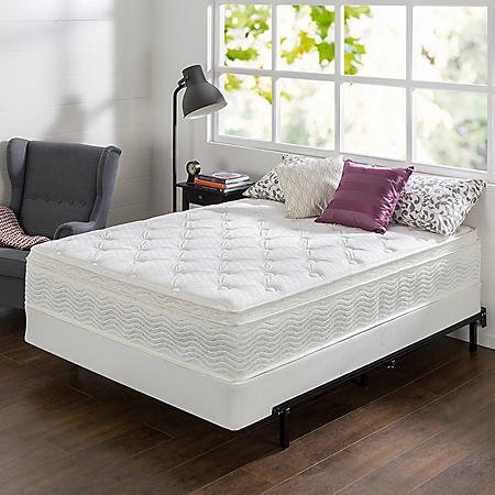 "Night Therapy 12"" Comfort Coil Spring California King Mattress and BiFold Set"