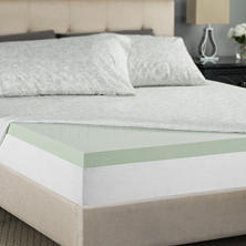 "Night Therapy 2"" Pressure Relief Memory Foam Mattress Topper (Assorted Sizes)"