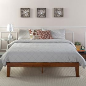 Night Therapy Cherry Solid Wood Platform Bed (Assorted Sizes)