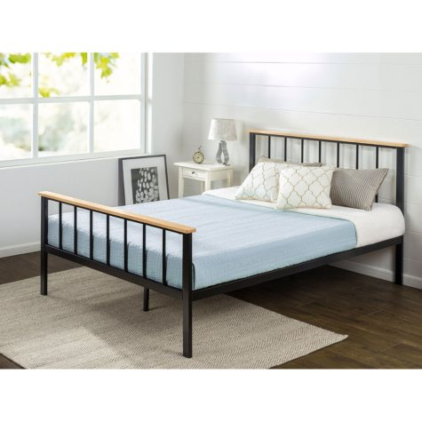 Night Therapy Contemporary Platform Bed (Assorted Sizes)