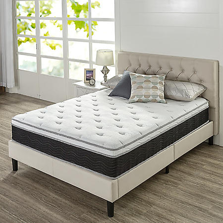 """Night Therapy 12"""" iCoil Premium Support King Mattress"""