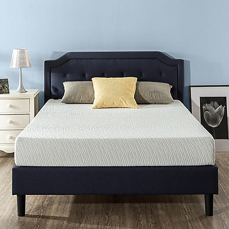 "Zinus Night Therapy Gel Infused Memory Foam 8"" Elite Twin Mattress"