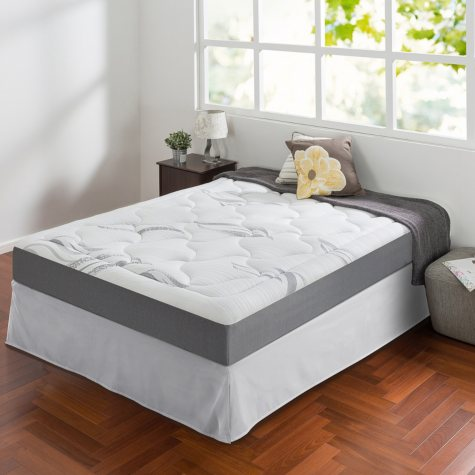 """Night Therapy Memory Foam 8"""" Cloud Queen Mattress and SmartBase Set"""
