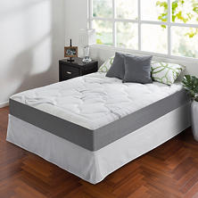"Night Therapy Memory Foam 10"" Cloud Queen Mattress and SmartBase Set"