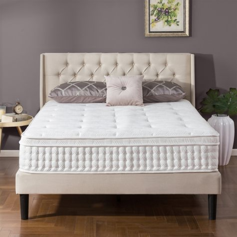 "Night Therapy iCoil 12"" Euro box Top Spring Twin Mattress"