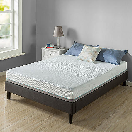 "Zinus Night Therapy Memory Foam 8"" Pressure Relief Queen Mattress"