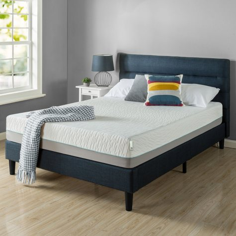 "Zinus Night Therapy Memory Foam 10"" Pressure Relief Twin Mattress"