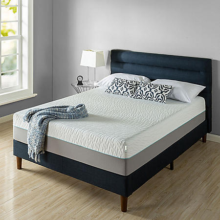 "Zinus Night Therapy Memory Foam 13"" Pressure Relief Queen Mattress"