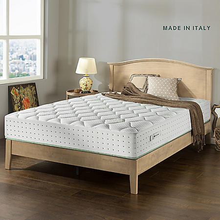 "Zinus Night Therapy Italian Made Olive Oil Infused 12"" Hybrid King Mattress"