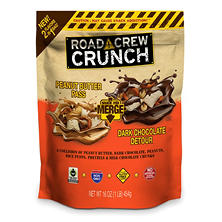 Road Crew Crunch Snack Mix Merge, Peanut Butter and Dark Chocolate (16 oz.)