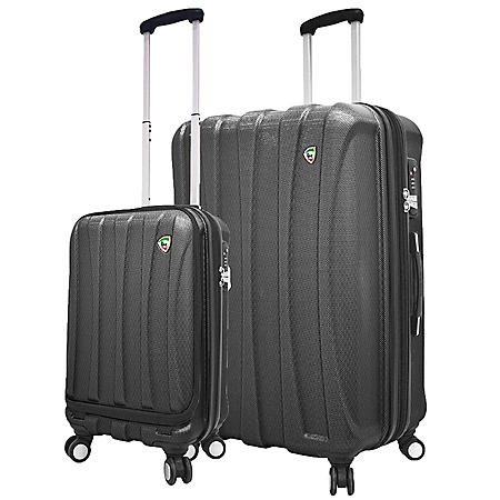 Mia Toro Italy Tasca Fusion 2-Piece Hardside Luggage Set