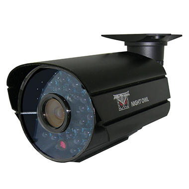 Night Owl 600TVL Indoor/Outdoor Security Camera, with 100' Night Vision and Audio