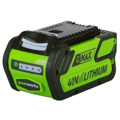 GreenWorks G-MAX 40V 4 AH Li-Ion Battery
