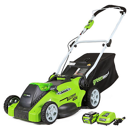 "GreenWorks G-MAX 40V 16"" Cordless Lawn Mower"
