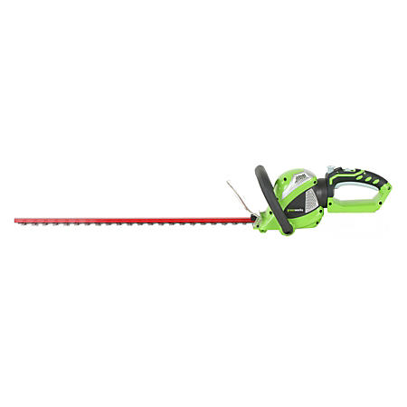 """GreenWorks G-MAX 40V 24"""" Cordless Hedge Trimmer - Battery and Charger Not Included"""