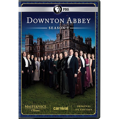 Downton Abbey: Season 3 (DVD) (Original UK Unedited Edition)