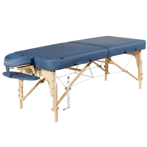 "Master Massage 30"" Phoenix Portable Massage Table Package, Royal Blue"