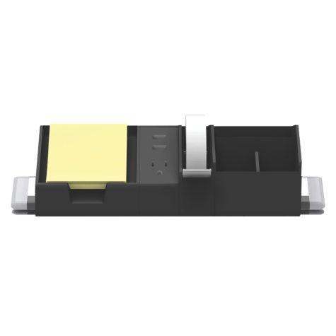 Bostitch Konnect 5-Piece Cable Management and Desktop Organizer Kit, Assorted Colors