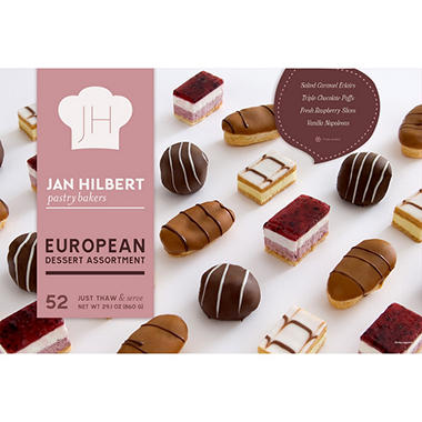 Jan Hilbert European Dessert Assortment (52 ct.)