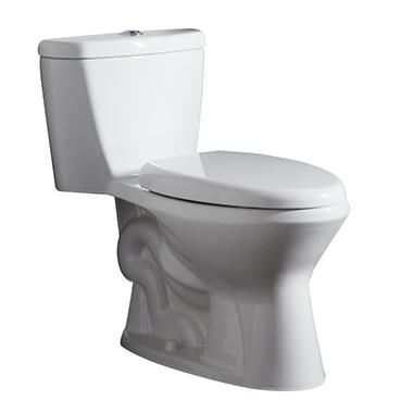 monopy 1piece elongated toilet white