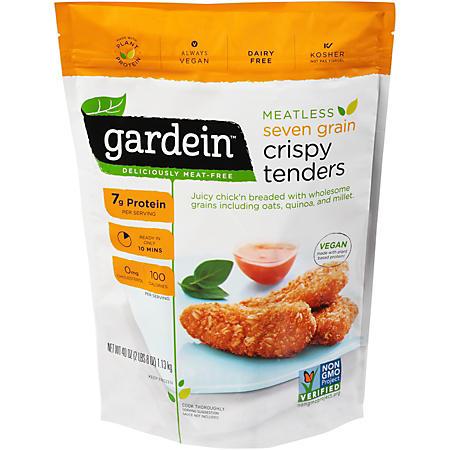 Gardein Meatless Seven Grain Crispy Tenders, Frozen (40 oz.)