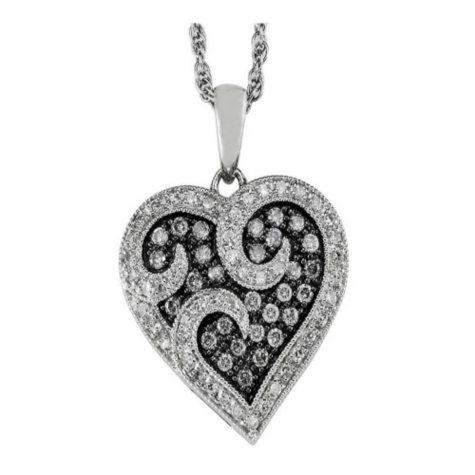 Silvermist Diamond Pendant