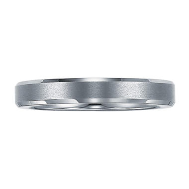 Men's 4mm Tungsten Wedding Band
