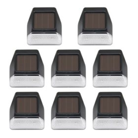 Westinghouse 3 Lumen Solar Motion-Sensing Security Light Set – 8 PK