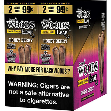 Good Times Sweet Woods Honey Berry (2 pk., 30 ct.)