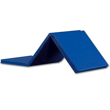 Expando Folding Exercise Mat - Blue