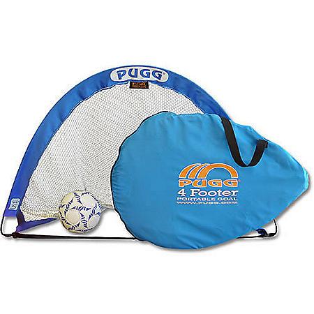 PUGG 4' Portable Training Set - 2 Goals - 1 Bag