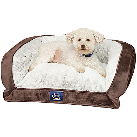 Serta Perfect Sleeper Memory Foam Blend Couch Pet Bed 24
