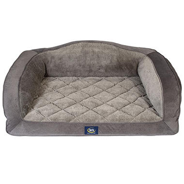 Serta Perfect Sleeper Camel Back Couch Pet Bed Choose