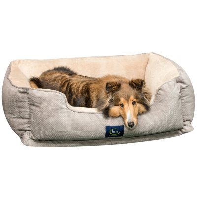Serta Perfect Sleeper Orthopedic Cuddler Pet Bed